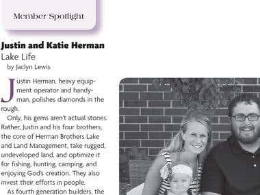 Member Spotlight: Justin and Katie Herman, Lake Life