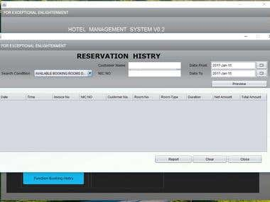 Best Hotel Reservation System project