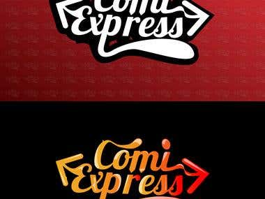 ComiExpress - Logo Design