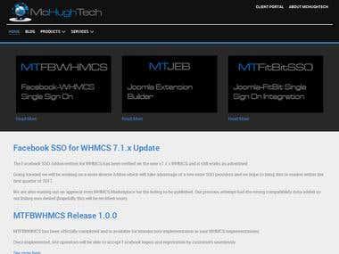 McHughTech.com Website