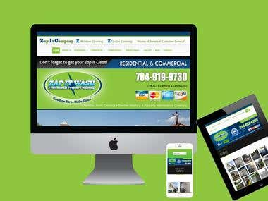 Charlotte Cleaning Company Website
