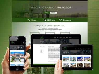 Constrction Company Website