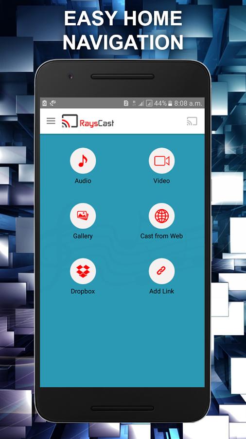 RaysCast For Chromecast | Freelancer