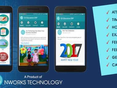 O3 Android App for School
