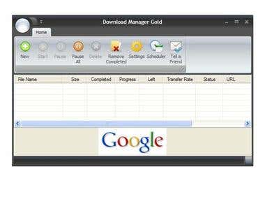 Download Manager Gold - a fast download manager