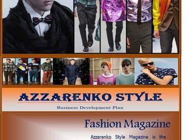 Business Plan- Men Fashion Magazine