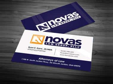 our business cards design