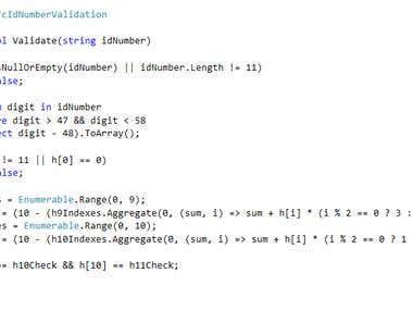 LINQ Skills