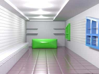 Colab with Jasontron- renewing GSM Store 3D concept