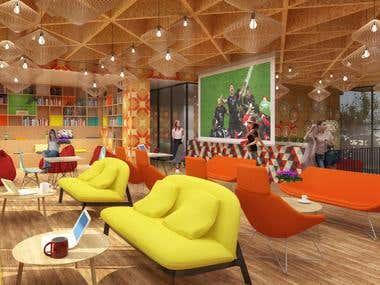 Vanke Apartments Lobby Design