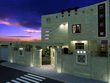 Villa Redesign and Render