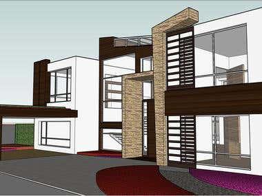 Kishan House - 3D Modeling