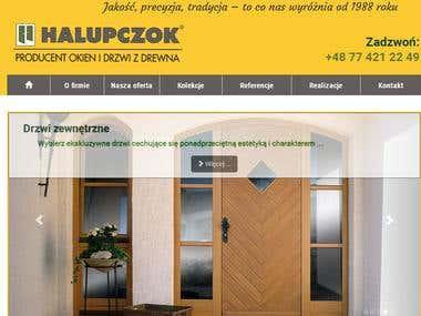 http://www.halupczok.com.pl/