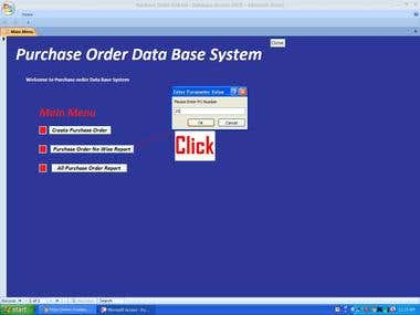 Purchase Order Database System Design for Congo Store