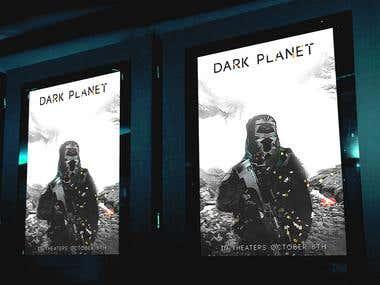 Poster Design - Dark Planet