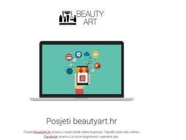 Beauty art email template