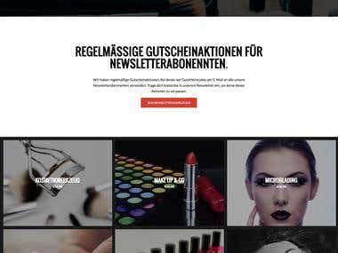 Kosmetikshop auf WordPress-Basis (WooCommerce)