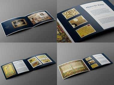 Luxury brochure design