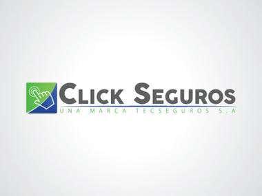 Propuesta logo Click Seguros
