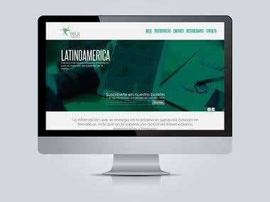 Propuesta de diseño sitio web MILA