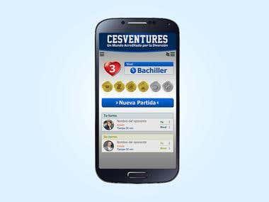 Propuesta app CESVENTURE