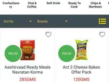 KwickCart - Online Grocery