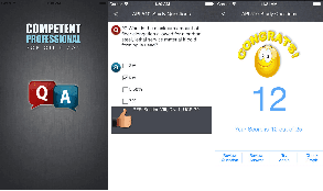 Educational Quiz App for API Students.