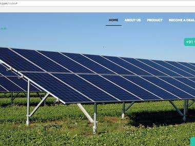 Solar Website