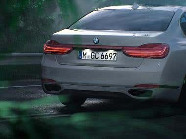 BMW Rendering(CGI)