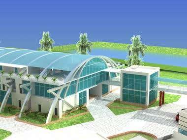 Bashundhara Swimming pool complex