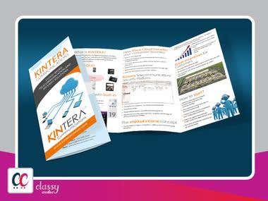 Kintera three fold brochure