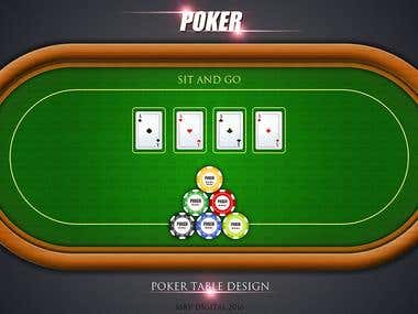 Poker Game Design