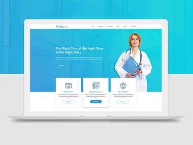 Ritecare - Healthcare PSD Template