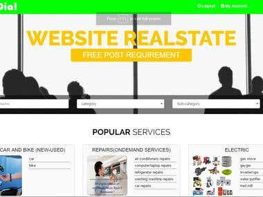 Listing Website Design