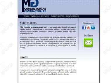 Mg consultorias contractuales
