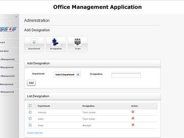 Office Management Application