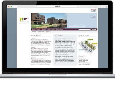 Spielberk Website Design