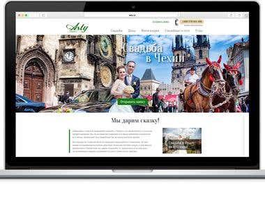 Wedding Agency Website Design & Development