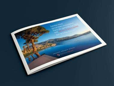 A5 Brochure design & prepress