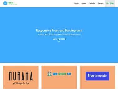 HTML CSS Twitter Bootstrap
