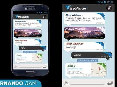 App Design - Chat
