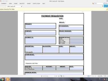 Interactive Pdf Form