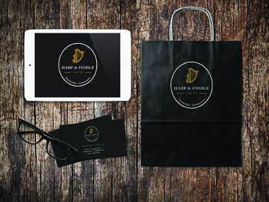 Logotype made for Irish Pub