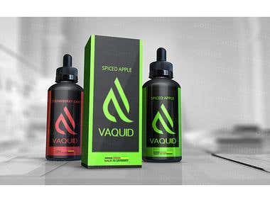 E-Liquid Bottle and Package Design