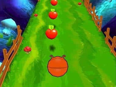 'Rolly The Bug' Endless Runner (Unity - Mobile)
