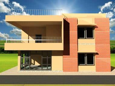 3D of Duplex House