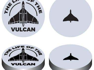 THE LIFE OF THE VULCAN Medal