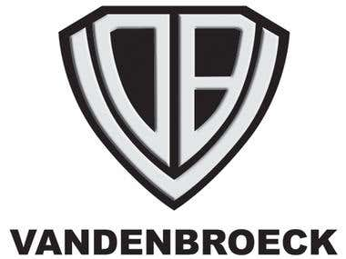 Vandenbroeck logo embossed