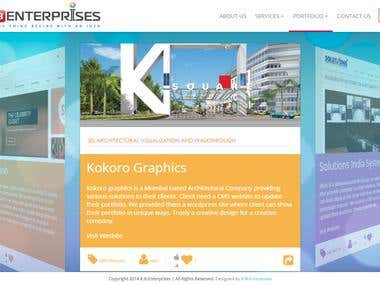 K.B.Enterprises Portfolio website - www.doortoweb.net