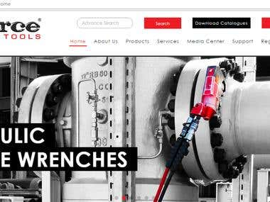 Hydraulic Tools Dynamic Site